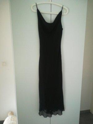 Abendkleid schwarz, Zero, Gr. 38