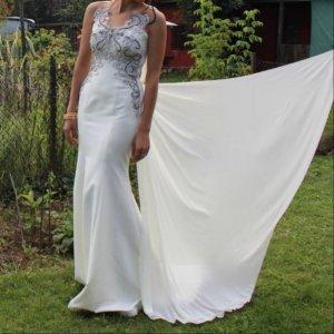 Evening Dress white