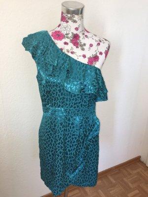 Abendkleid Türkis Fashion Kleid Mini Maxi
