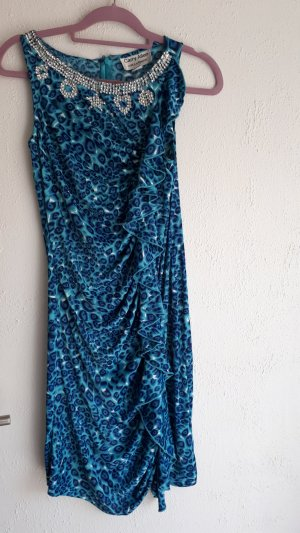 Carry Allen by Ella Singh Evening Dress petrol-turquoise