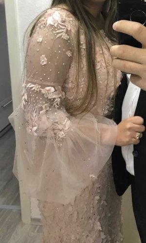 Bruidsjurk rosé-lichtroze