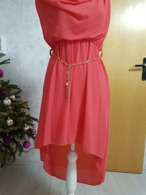 High Low Dress salmon