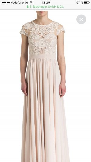 Barbara Schwarzer Evening Dress white-pink