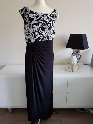 Abendkleid von Connected Apparel schwarz/weiss