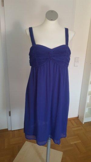 Abendkleid von Esprit lila (blau), Größe 40