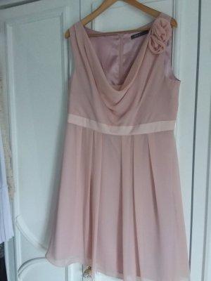 Peek & Cloppenburg Vestido de chifón rosa empolvado