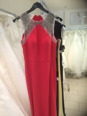 Abendkleid von Unique, ein Modell das auch von Sabine Lisicki getragen wurde