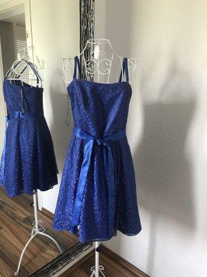 Vera Mont Vestido de noche azul