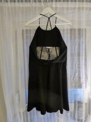 Abendkleid von Zara mit Spitzenrücken