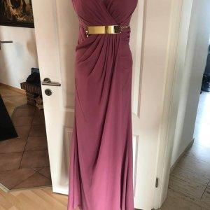 100% Fashion Avondjurk roze