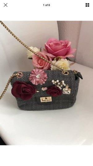 Mini Bag grey-light grey