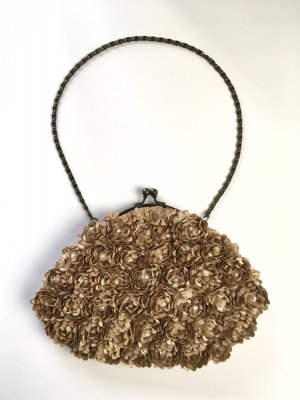 Accessorize Minitasje roségoud-brons