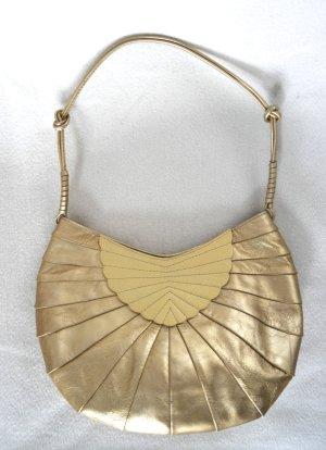 Abendtasche von DKNY in goldfarbenem Leder