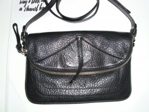 Marc by Marc Jacobs Minibolso negro-color plata