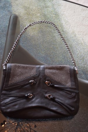 Abendtasche von Zara aus Leder