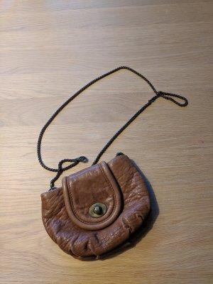 Abendtasche von Zara - Leder braun