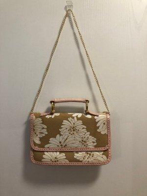 Handbag multicolored cotton