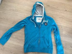 Abercrombie & Fitch Hooded Sweater light blue