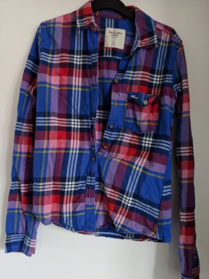 Abercrombie & Fitch Long Sleeve Shirt multicolored