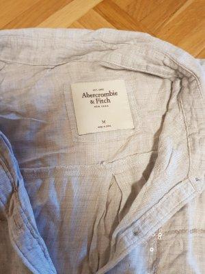 Abercrombie & Fitch Cuello de blusa gris claro