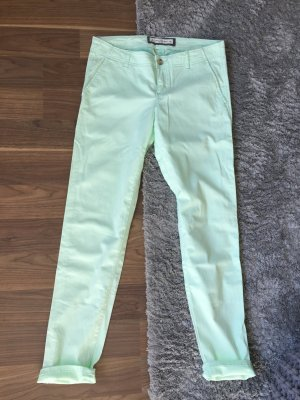 Abercrombie and Fitch Chino Hose Pastel Türkis, Gr. 6, 28
