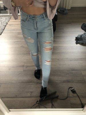 Abercrombie & Fitch Jeans skinny bleu clair