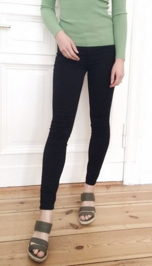 Abercrombie and Fitch Jeggings Jeans Leggings Legging schwarz Stretch 00 W24 NEU