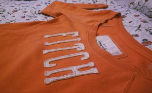 Abercrombie and Fitch Pullover Orange
