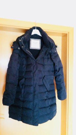 Abercrombie & Fitch Winterjas donkerblauw