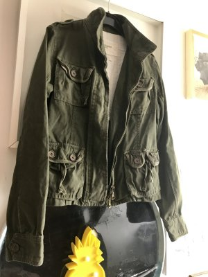 Abercrombie Armyjacket olivgrün M 36