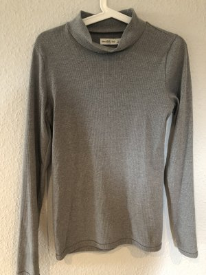 Abercrombie & Fitch Turtleneck Shirt grey-light grey