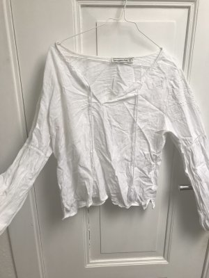 Abercrombie & Fitch Blouse topje wit-wolwit