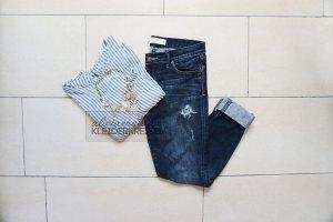 Abercrombie & Fitch Jeans boyfriend multicolore