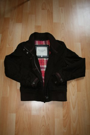 Abercrombie braune warme Jacke Winter #jacket