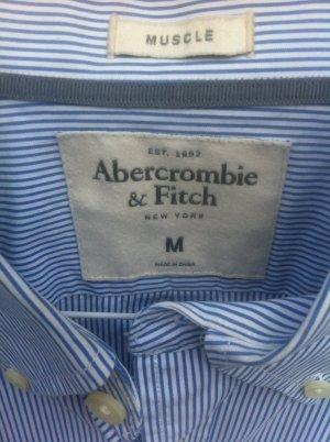 """""""Abercrombie&Fich"""" Streifenhemd/bluse, unisex M, Bestzustand, Neu"""