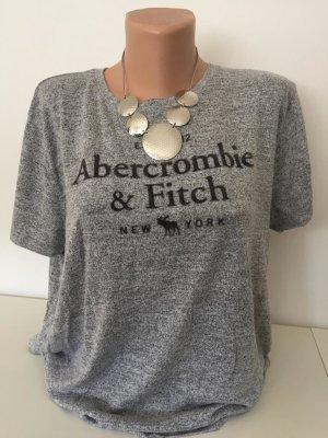 Abercrombie & Fitch Shirt zwart-lichtgrijs