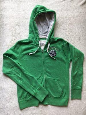 Abercrombie & Fitch Maglione con cappuccio verde