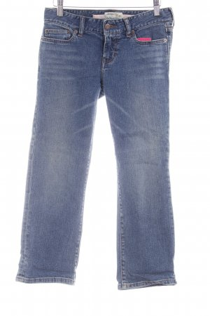Abercrombie & Fitch 7/8 Jeans blau Casual-Look