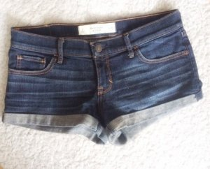 Abercrombie & Fitch A&F Jeans Shorts Hotpants knapp hüftig tief W26 2