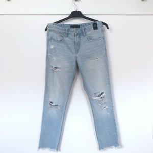 Abercrombie & Fitch Jeans a gamba dritta multicolore