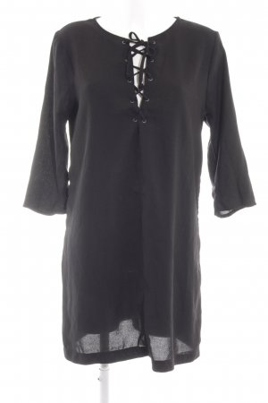 Abercrombie & Fitch A-Linien Kleid schwarz Casual-Look