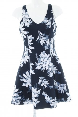 Abercrombie & Fitch A-Linien Kleid florales Muster Casual-Look