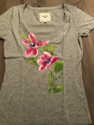 Abercrombie & Fitch V-Neck Shirt multicolored