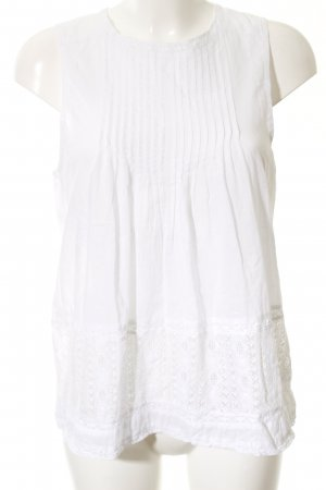 Abercrombie & Fitch Sleeveless Blouse white casual look