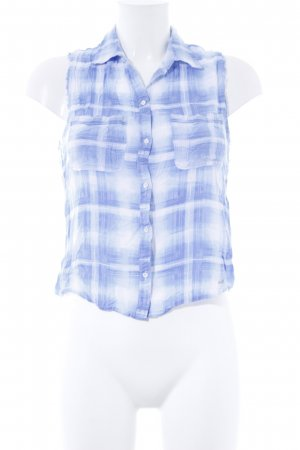 Abercrombie & Fitch ärmellose Bluse Karomuster Casual-Look
