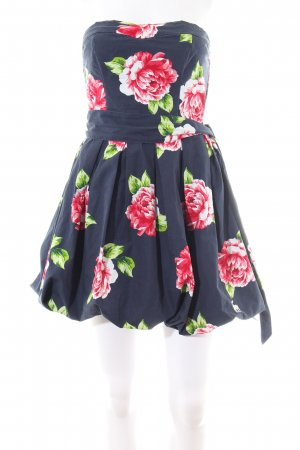 Abercrombie & Fitch Bandeau Dress flower pattern elegant