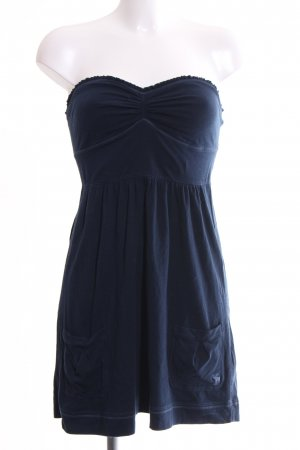 Abercrombie & Fitch Bandeau Dress blue casual look