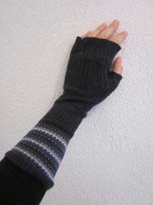 Abercrombie & Fitch Baumwoll Handschuhe dunkelblau