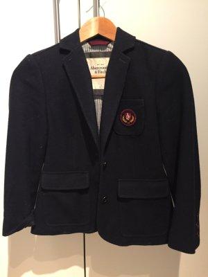Abercrombie & Fitch Blazer  College Blazer Jacket Blau Navy Preppy S