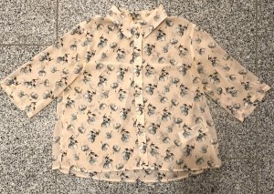 Abercrombie & Fitch Blouse Collar light pink-light grey